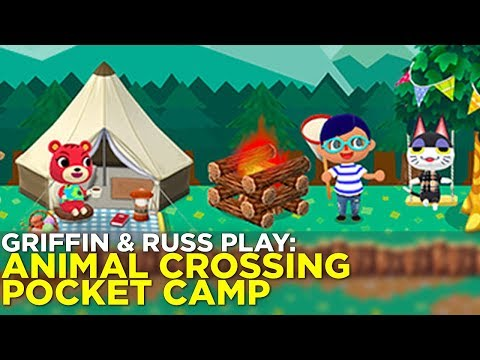 ANIMAL CROSSING: Pocket Camp AHOY w/ Griffin and Russ