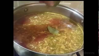 Как приготовить мясные супы пожилым людям