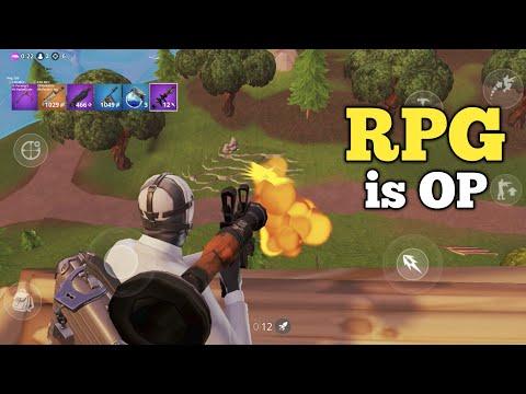 RPG Is OP In FORTNITE MOBILE