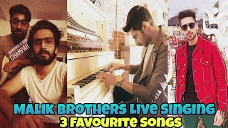 Armaan Malik & Amaal Mallik Live - Singing 3 Favourite Songs    One By One - 2018