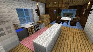 【Minecraft】初心者でバニラでもオシャレな内装を作りたい ゆっくり実況 thumbnail