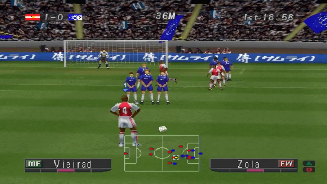 FA Premier League 2002-2003 - Playstation 1 - YouTube