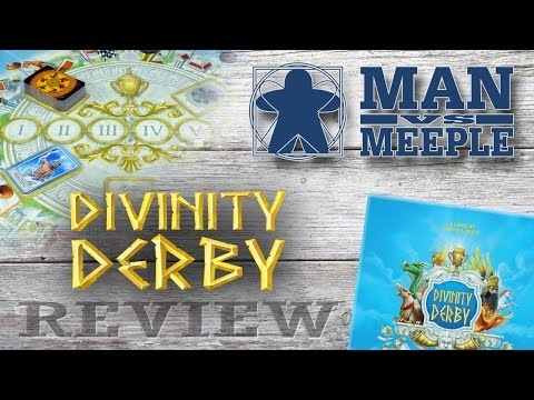 Divinity Derby (Ares Games) Review by Man Vs Meeple