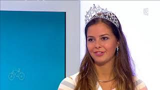 Alexane Dubourg, miss Normandie 2017, dans 9h50 le matin