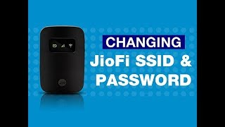 JioFi - How to Change JioFi Name (SSID) and Password | Reliance Jio