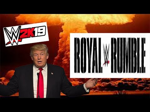 WWE 2k19 Royal Rumble (For World Domination)