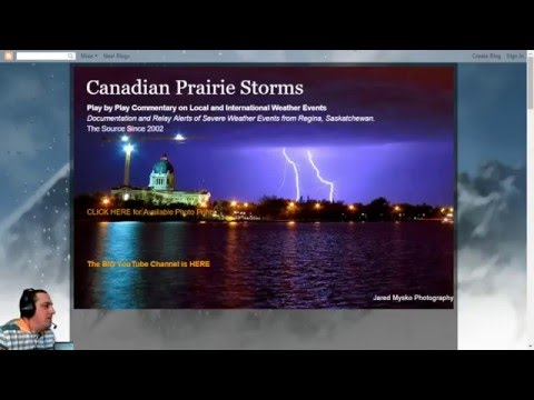Severe Weather Forecast Show [Interactive Presentation]