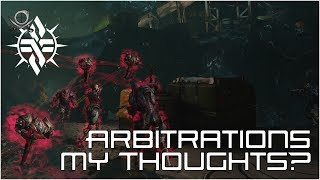 (WF) Arbitrations - My Thoughts?