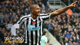 Newcastle vs. Bournemouth: Impresionante gol de cabeza de Salomón Rondón   Telemundo Deportes