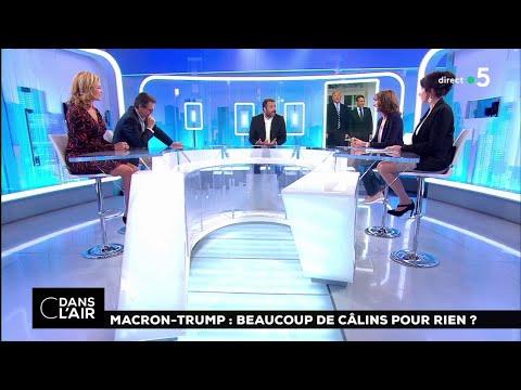 Macron-Trump : beaucoup de câlins pour rien ? #cdanslair 26.04.2018