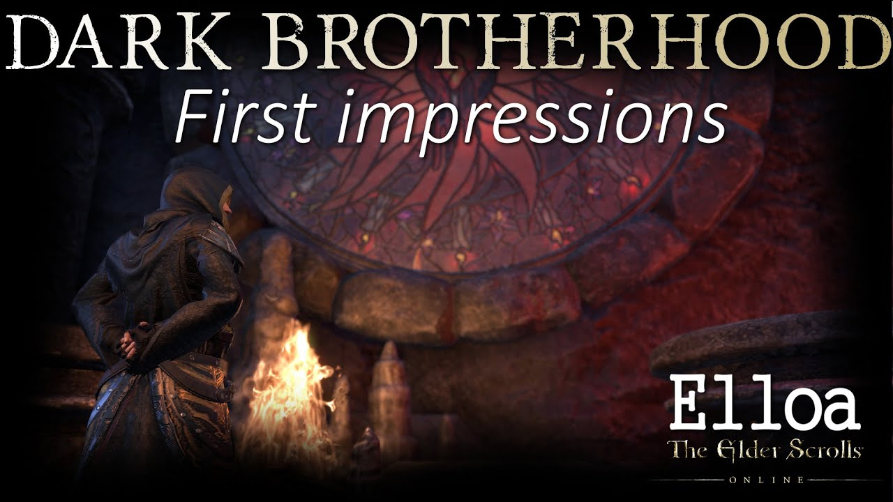 Eso  Dark Brotherhood, First Impressions  Review