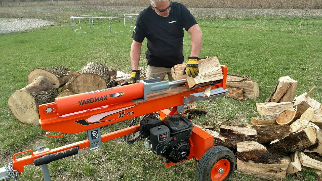 Top 5 Best Wood Log Splitter You Need To See 2019 - YouTube