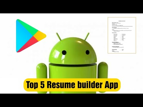 Top 5 Best Resume Maker apps in 5 Minutes