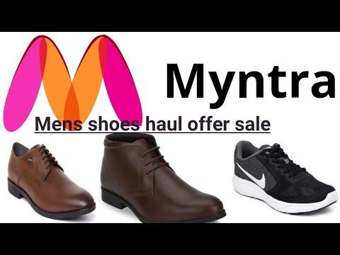 myntra sale mens shoes nike