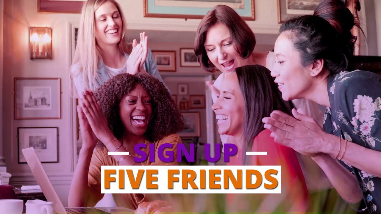 Refer-a-Friend: Get 5, Get FREE!*