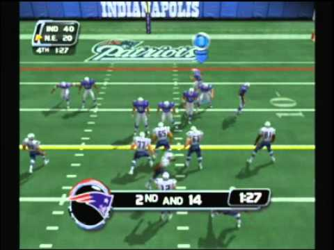 NFL BLitz 2003 - Colts vs Patriots (2nd Half)