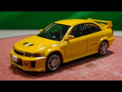 トミカリミテッドヴィンテージ ネオ 1/64 LV-N187a 三菱 ランサーGSR エボリューションV 黄