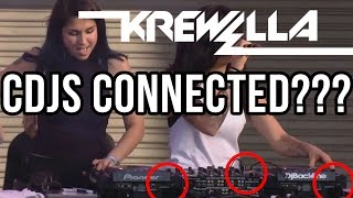 Krewella CDJs Unplugged??? (Ultra 2015)