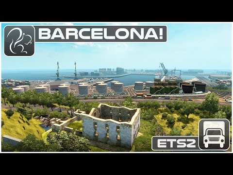 Barcelona (ETS2 ProMods 2.1)