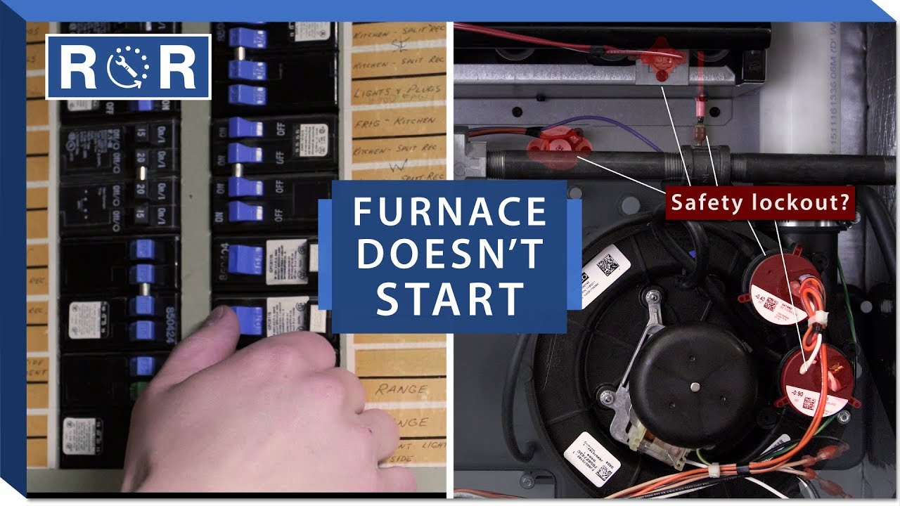 Furnace Won't Start - Step by Step Solutions | Repair and Replace - YouTubeYouTube