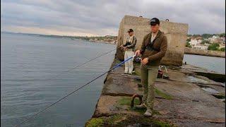 Морская рыбалка с берега Одесса Ловля саргана и ставридки КОНКУРС