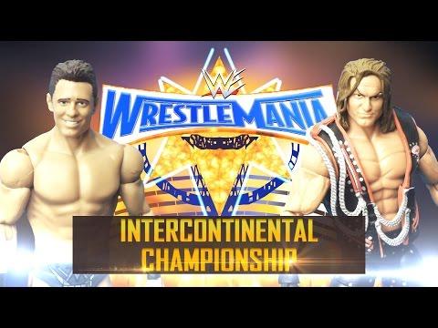 Intercontinental Champion The Miz vs. Dolph Ziggler in a Ladder Match at WrestleMania 33