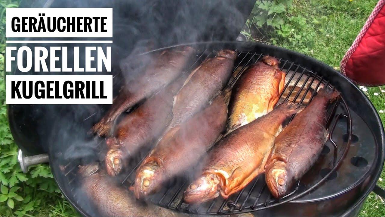 Weber Holzkohlegrill Forelle : Forelle vom grill ganzen fisch grillen anleitung rezept weber