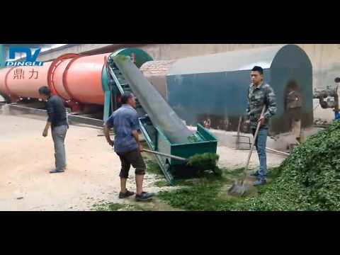 Napier grass/Elephant grass/Alfalfa dryer/hay grass dryer--from Zhengzhou Dingli Group