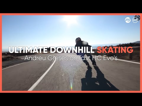 Ultimate downhill skating - Andreu Greses on Powerslide Hardcore Evo 2.0 Inline skates