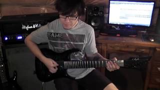 Dream Theater - The Enemy Inside (Guitar Cover) **New Album 2013** NEW SONG