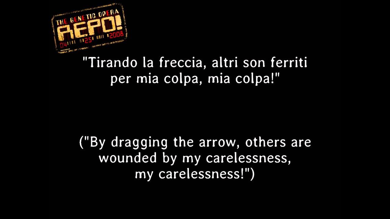 Repo! The Genetic Opera - Chromaggia [Lyrics] - YouTube