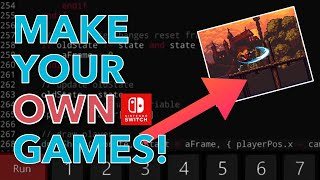 Make Your Own Nintendo Switch Games! | Fuze4 Nintendo Switch