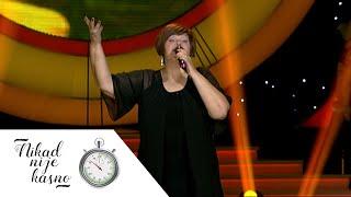 Zorica Nedeljkovic - Dobro jutro Sumadijo - (live) - Nikad nije kasno - EM 04 - 15.11.15.