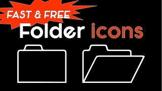 Free Folder Icons The Fast Way (Woo-hoo!)
