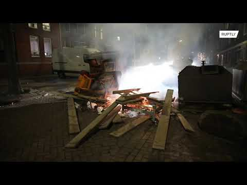 Lockdown riots for third night in the Netherlands