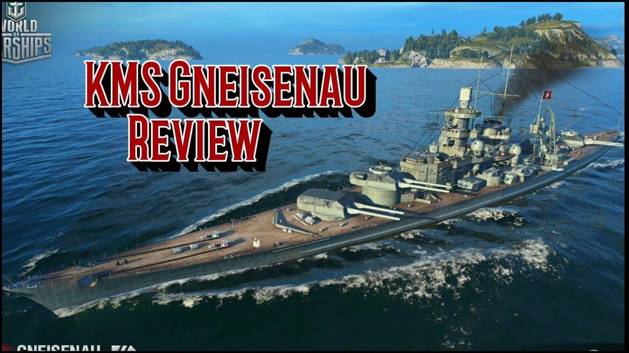 KMS Gneisenau Review - World of Warships Blitz