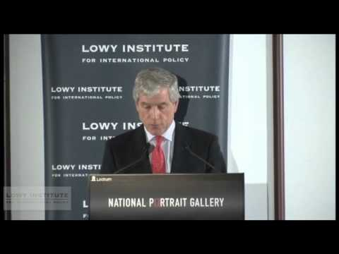 Lowy Lecture Series: Nick Warner, ASIS Director General