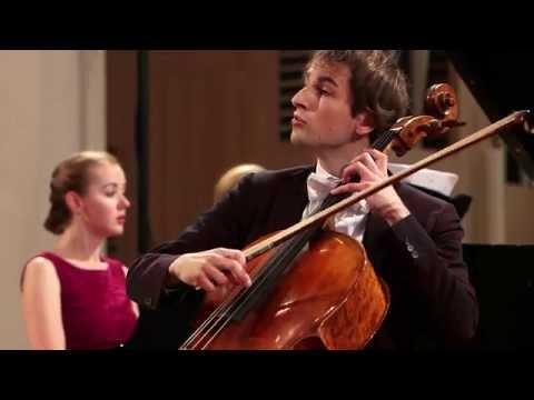 Prokofiev Cello Sonata Live at Lucerne Festival 2015, Christoph Croisé, Oxana Shevchenko