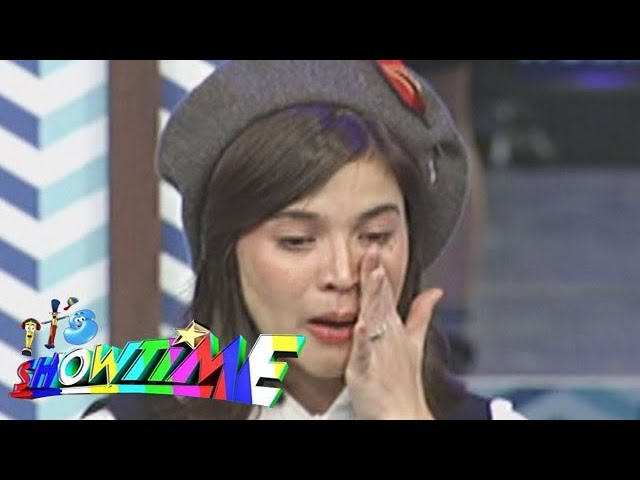 It's Showtime: Anne gets emotional after the performance of Team Vhong