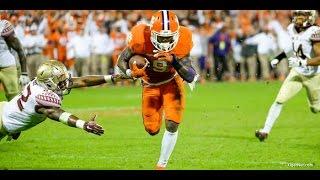 Wayne Gallman (Clemson) vs. Florida State (2015)