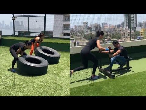 Katrina Kaif HOT Workout For Aamir Khan's...