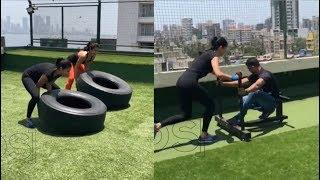 Katrina Kaif HOT Workout For Aamir Khan's Thugs Of Hindostan