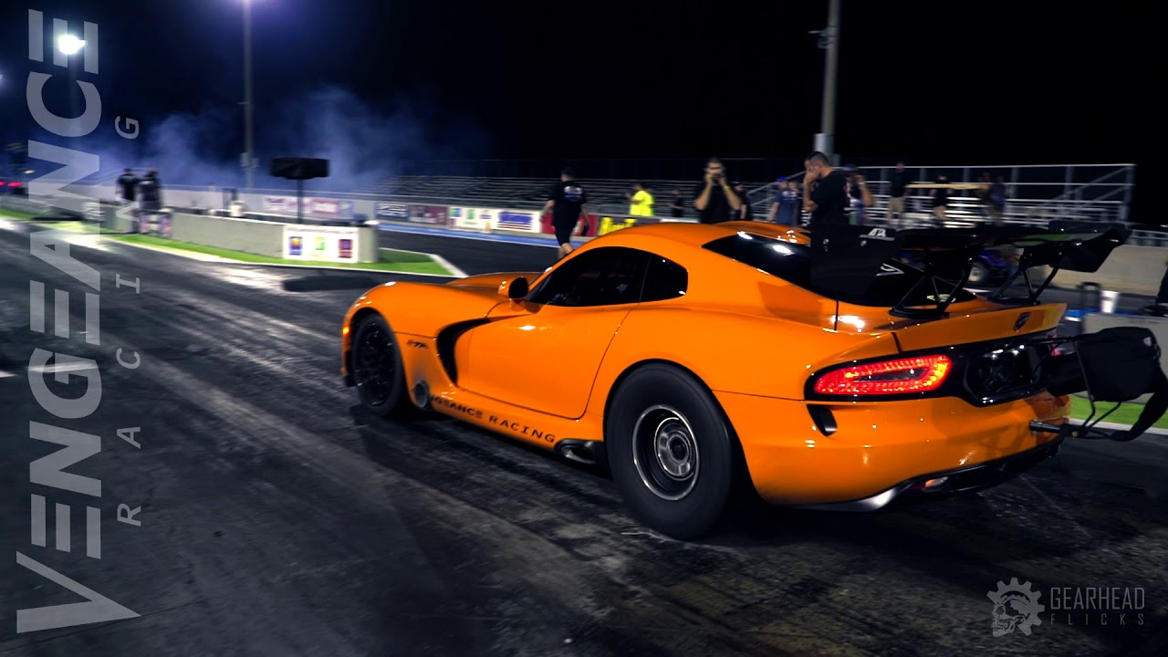 Viper 1/4 mile World Record / Speed Addicts Street X WINNER!
