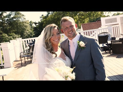 Atlantic City Country Club Summer Wedding {lindsay & dan} NJ Wedding Video