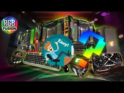 Customize LED colors and effects! GIGABYTE XTREME GAMING