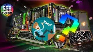 How to set up Gigabyte RGB Fusion