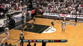 Carlos Arroyo Son Saniyede Galibiyeti Getiren Basket HD