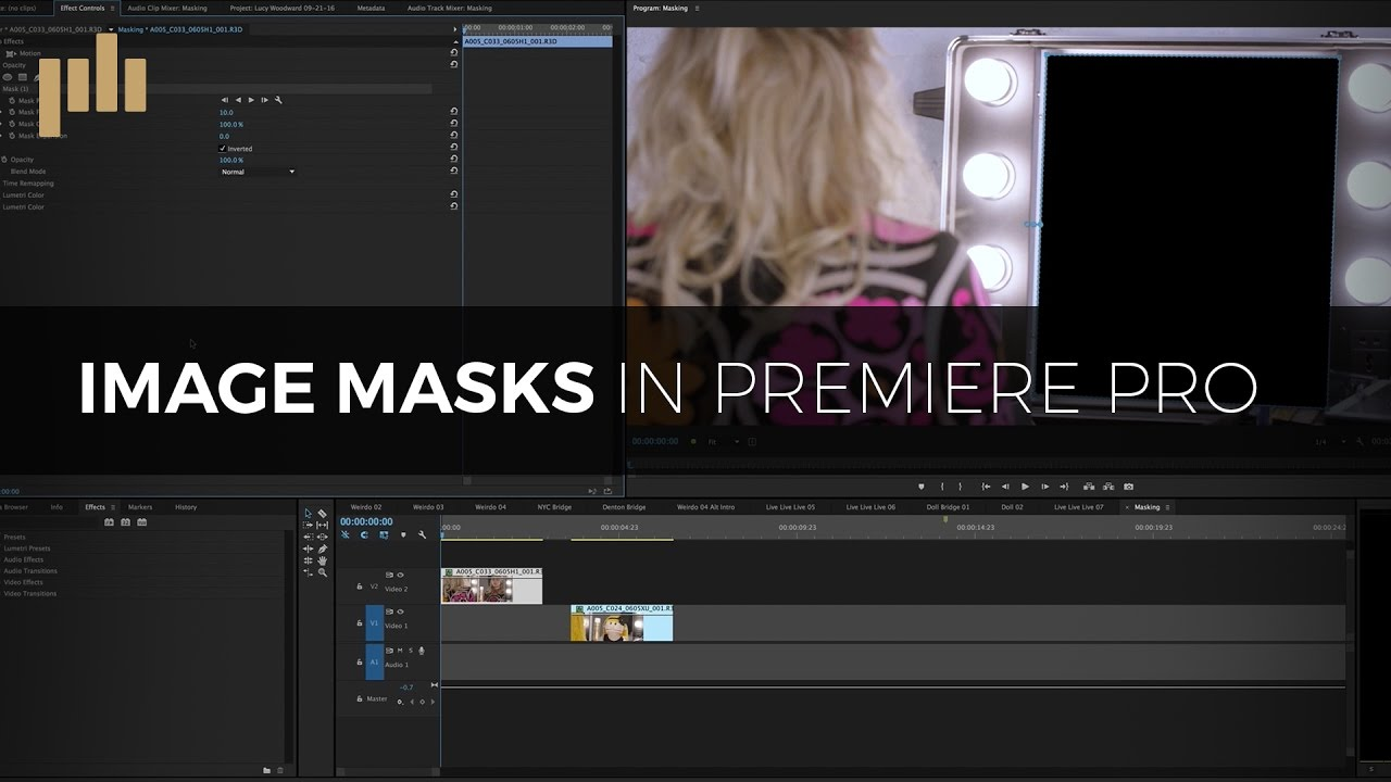 How to Create Masks in Adobe Premiere Pro