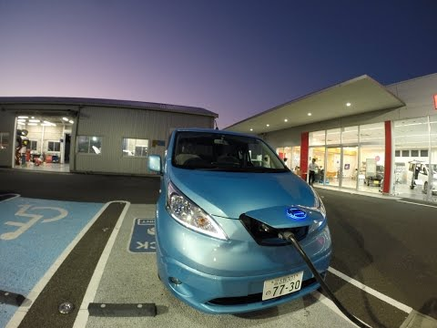 A Day Trip In An e-NV200 To Pick Mikans In Chiba, Japan
