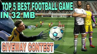 Top 5 best Soccer & football games for android 2017 under 100mb